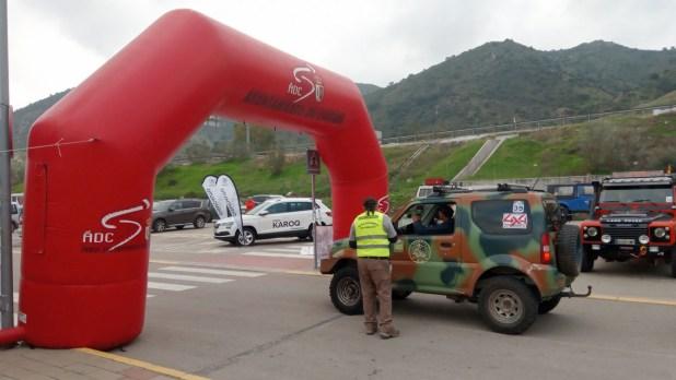 Participante Ruta Solidaria 4x4 Málaga.