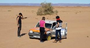 La arena toma el protagonismo en el Rally Clásicos del Atlas Invernal 2018