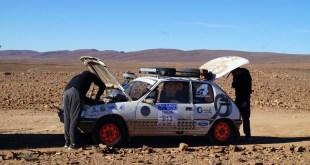 Pistas rápidas y duras en la sexta etapa del Rally Clásicos del Atlas 2018