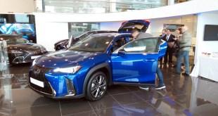 Lexus organiza en Málaga una prueba dinámica de conducción de sus modelos ES y UX