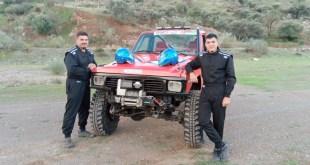 El equipo Luis Extremo se prepara para disputar el Campeonato Extremo 4×4 de Andalucía