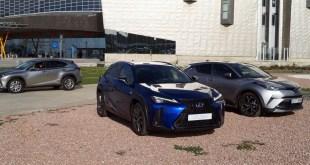 Lexus da a conocer en el Palacio de Ferias de Málaga sus nuevos modelos UX y LS