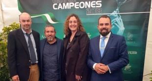 El equipo organizador del Campeonato Extremo 4×4 acude a la Gala de Campeones 2018