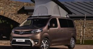 Toyota apuesta por el ocio y el aire libre con el nuevo Proace Verso Camper