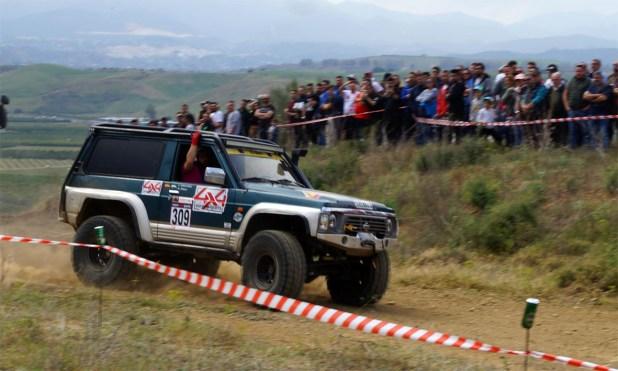 Equipo Team Marbella 4x4, primer clasificado en la categoría Extremo.