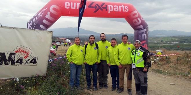 Representantes del Club La Carolina 4x4 en el Campeonato Extremo 4x4 de Andalucía Pizarra 2019.