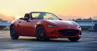 Mazda presenta la serie limitada MX5 Edición 30 Aniversario