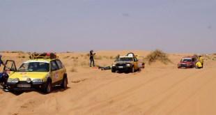 Décima edición del Rally Clásicos del Atlas Solidario, una prueba de aventura y solidaridad en el desierto de Marruecos