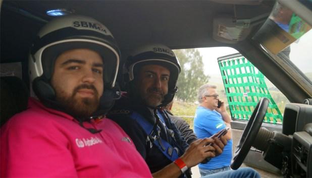 Ildefonso Villarubia y Alejandro Moya del equipo Marbella 4x4.