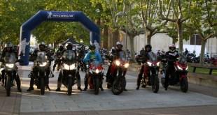 Más de 260 moteros participaron en la III Salamanca Challenge del Andrés Trophy 2019
