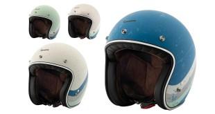 Vespa da un guiño al pasado con los nuevos cascos Jet Vespa Heritage