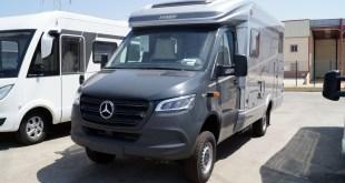 Autocaravanas Hidalgo comienza a entregar las primeras unidades de la nueva Mercedes Hymer MLT 580 4×4