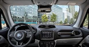 Jeep mejora la conectividad y el uso de compartido de datos en el Renegade 2020