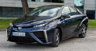 El Toyota Mirai, propulsado por pila de combustible de hidrógeno, ya es una realidad en nuestro país