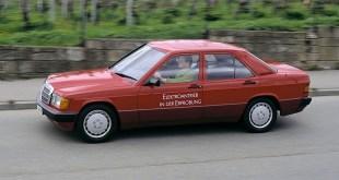 Historia del Mercedes-Benz 190 eléctrico desarrollado en la década de los 90