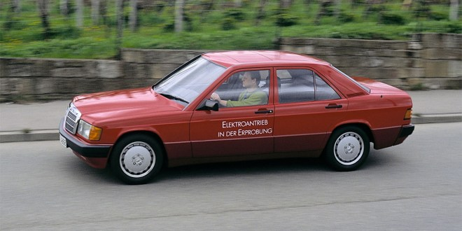 Mercedes Benz 190 Eléctrico