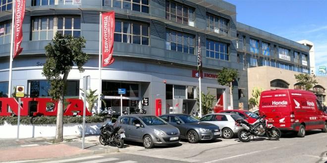 Servihonda concesionario oficial Honda motos en Málaga