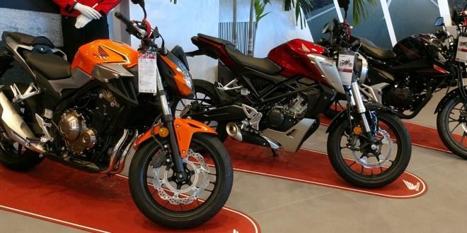 Motos Honda en Servihonda Málaga