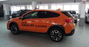 Los vehículos híbridos y con GLP copan la mayor parte de las ventas de Subaru en nuestro país