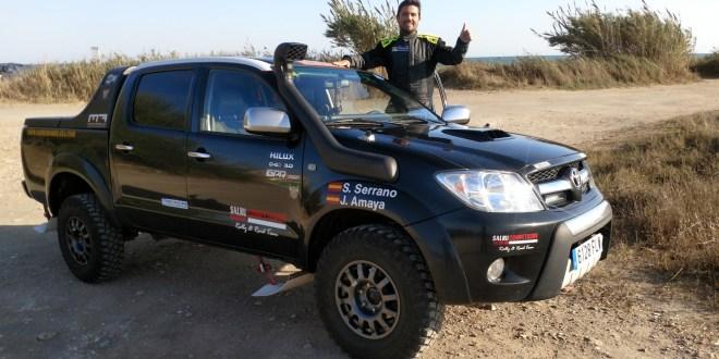 Salvador Rubén Serrano, piloto del equipo Salru Competición.