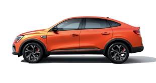 Tahermo recibirá el nuevo SUV Renault Arkana en el primer semestre de 2021
