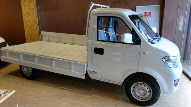 DFSK C31 pickup en las instalaciones de DFSK Málaga.