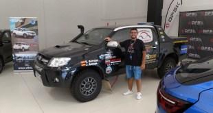 Salvador Rubén Serrano y Juan Miguel Amaya, del equipo Salru Competición, participarán este fin de semana en la Baja España Aragón 2021
