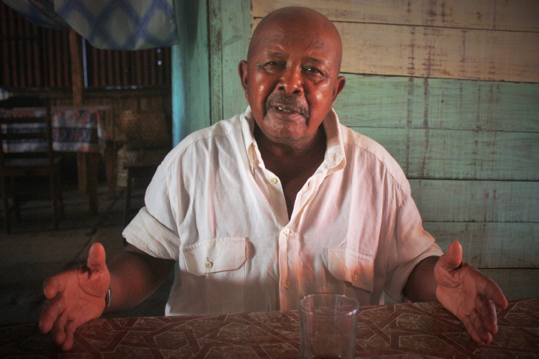Philibert Ramaroson, dit Fiacre, survivant du 29 mars 1947 (Photo MCF)