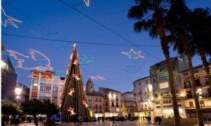 Malaga in winter