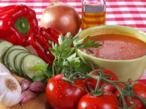 Gazpacho recipe ingredients