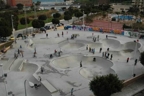 Skate Plaza: Considered the best skatepark in Spain and the third in Europe.