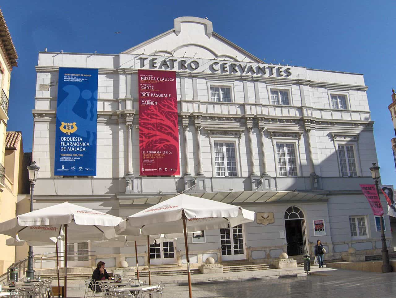 Teatro Cervantes en Malaga