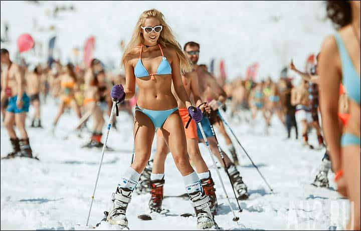 Pictures bikini skiers, pussy hymen pics gallery
