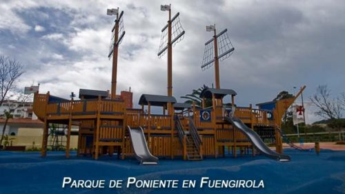 Playground in Fuengirola