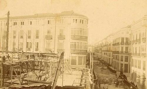 Calle Larios in 1890