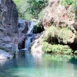 Natürliche Becken in Barranco Blanco