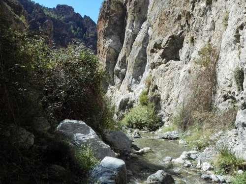 Sierra Nevada im Herbst
