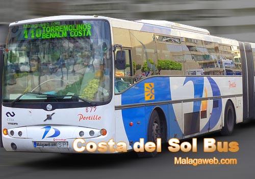 malaga bus