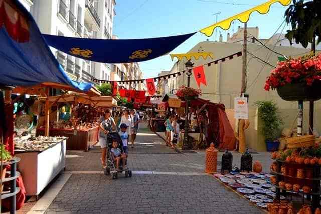 Mittelalter-Markt in Estepona