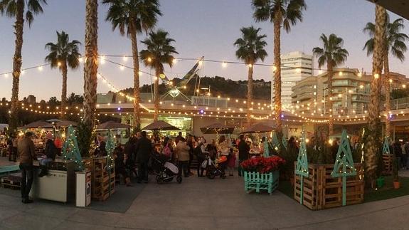 Málaga im Dezember