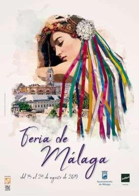Cartel de la Feria de Málaga