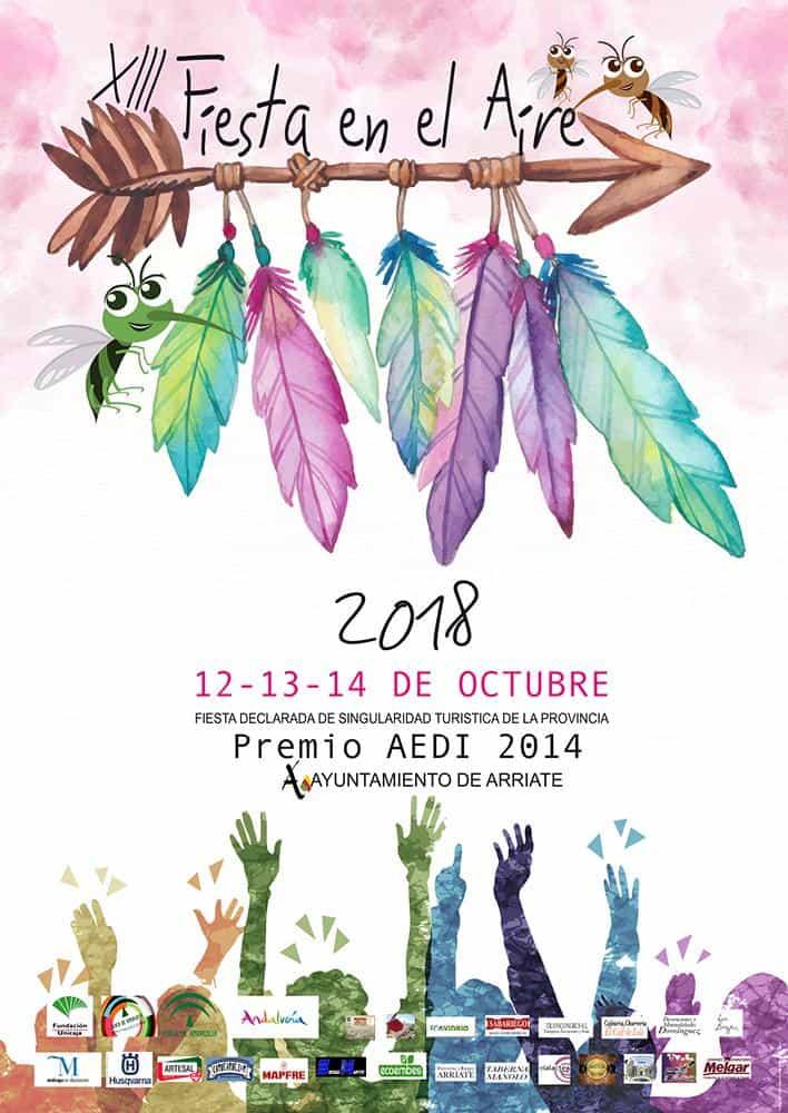 Fiesta en el Aire en Arriate - Programa de conciertos y actividades 2018
