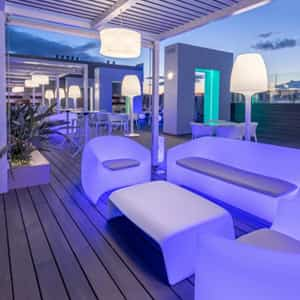 Photo of B-Heaven Barceló, a trendy rooftop terrace in Malaga