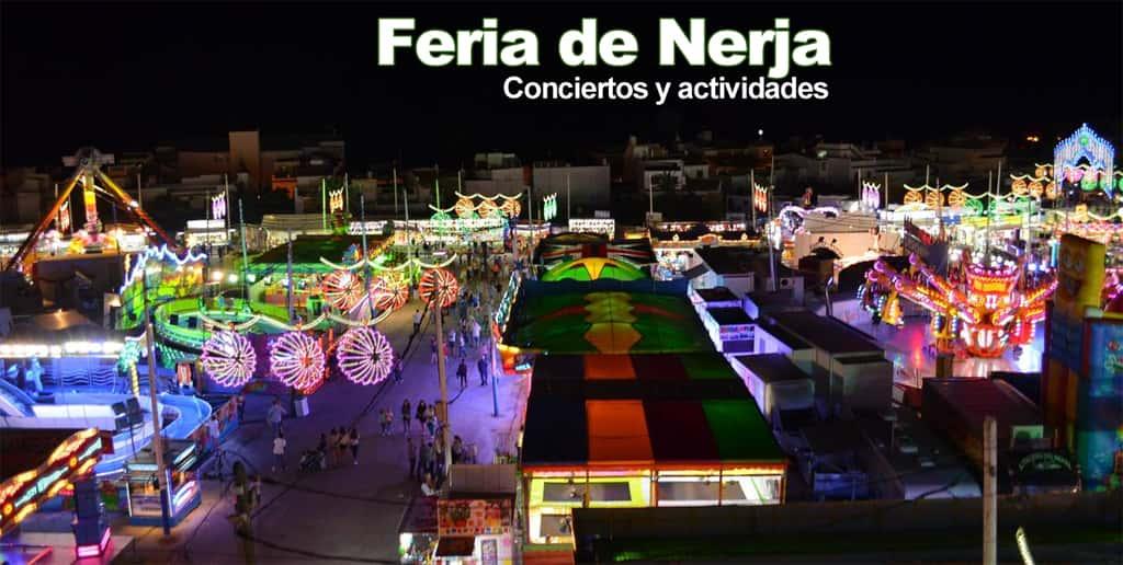 Feria de Nerja en octubre 2018 - Programa de feria y conciertos