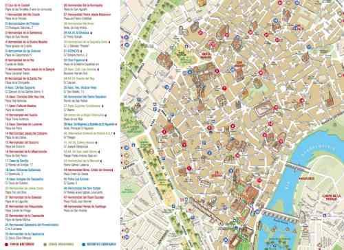 Mapa de Cruces de Mayo en Córdoba