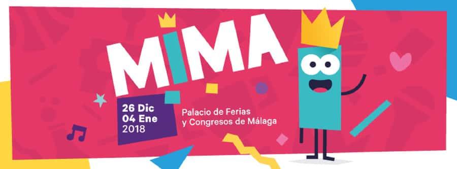 Cartel de MIMA en Málaga