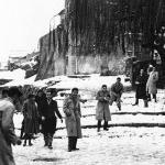 nieve en Málaga en 1954
