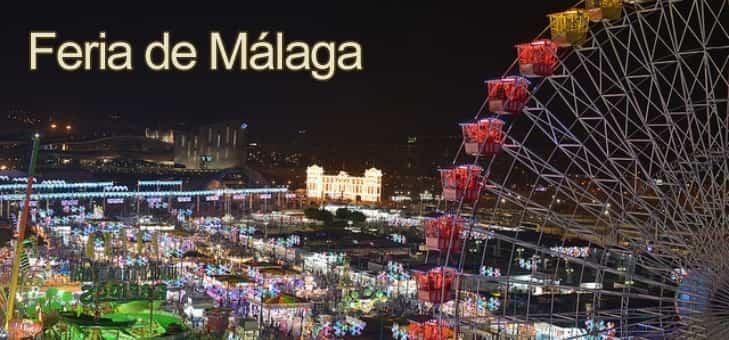 Programa y conciertos de la feria de Málaga del 11 al 19 de agosto 2018
