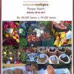 Mercadillo ecológico en Málaga este sabado, 28 de abril