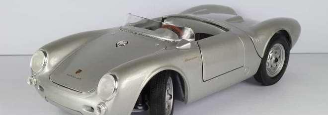 Porsche spider 1955